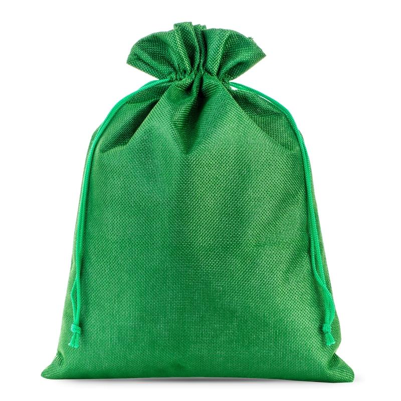 1 stuks Jute zakjes 26 x 35 cm - groen