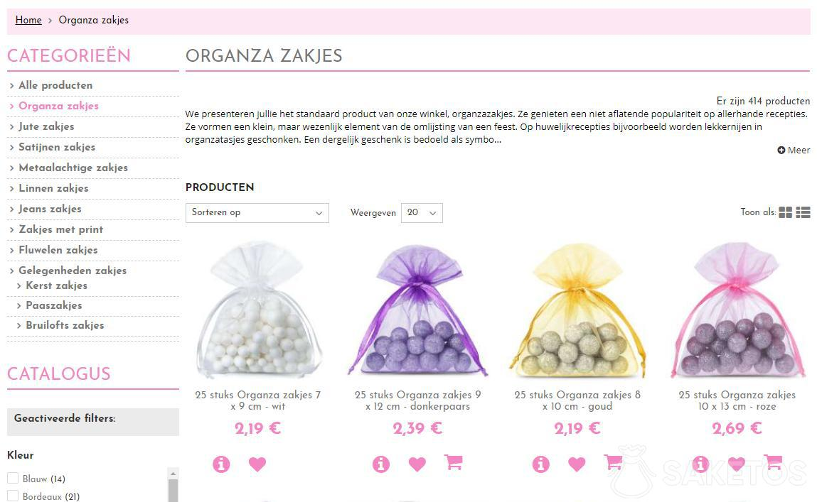Wat is organza