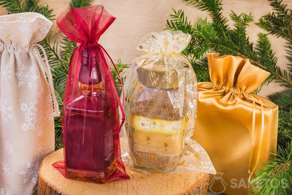 Dankzij de zakjes valt elk cadeau langer op!