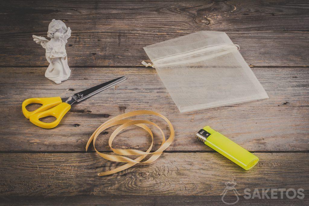 Stap 1 - Eerst moet U de nodige accessoires klaarleggen.