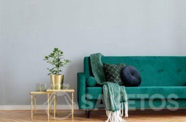 3. De stof velours wordt gebruikt voor interieurinrichting en de creatie van allerlei huisdecoraties