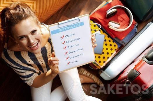 Maak een reischecklist voor het inpakken.