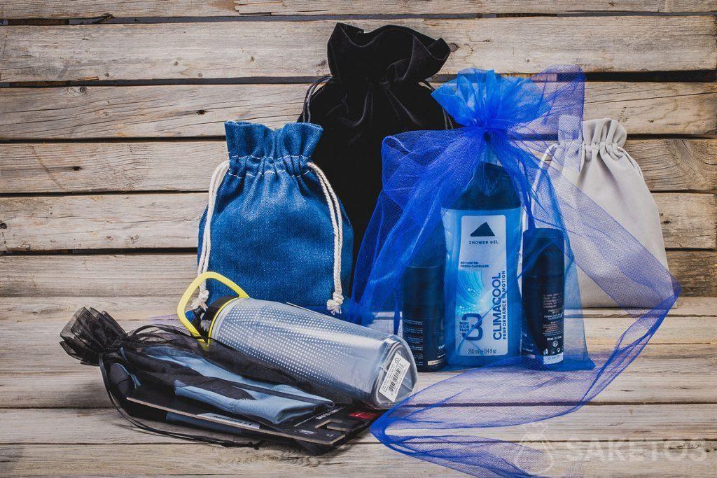 Stoffen zakjes zijn niet alleen een perfecte geschenkverpakking! Het zijn ook de perfecte organizatoren.
