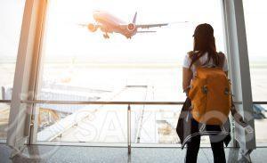 2.Comfortabel reizen met een rugzak als handbagage.
