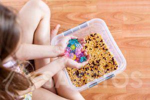Sensorische spelletjes voor kinderen