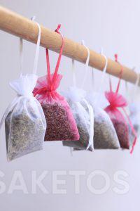 Droom jij van een frisse geur in je kleerkast of kleedkamer? Gebruik geurzakjes!