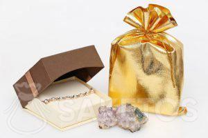 Metaalachtige zakjes - goud metallic
