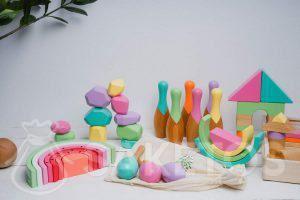 2.Houten speelgoed voor kinderen