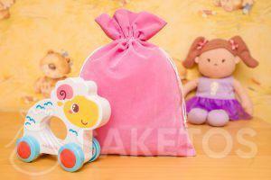 8.Geschenken voor kinderen in leuke velours zakjes