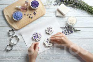 De versiering van je handgemaakte zeep