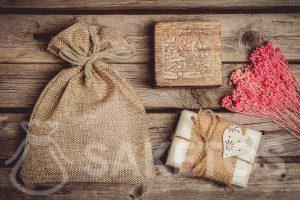 Ecologische zakjes voor handgemaakte zeep